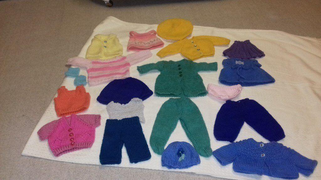 Hand Knitted Dolls Clothes In Sauchie Clackmannanshire Gumtree