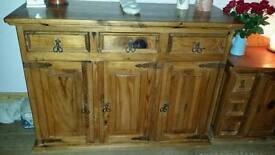 Very heavy solid wood unit