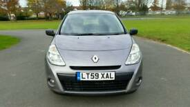 2010**1 OWNER**RENAULT CLIO EXTREME 1149cc**GREY**AUX /CD /RADIO **MOT & TAXED**SERVISE HISTORY**