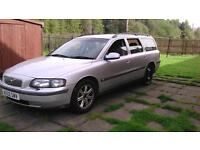 Volvo V70 d5 estate, no MOT spares or repair 250£