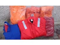 THERMAL COVERALLS LARGE AND EXTRA LARGE SIZES ONLY