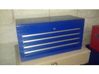 TOOL BOX blue by halfords new never used