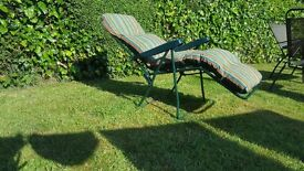 Garden reclining relax chair
