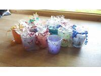 Small glass glow pots - beautiful little gifts