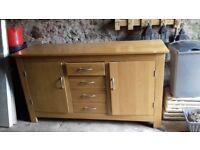 Quality Solid Oak Sideboard