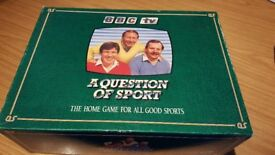 Vintage Question of Sport Board Game 1986 excellent condition