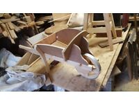 Handmade wheelbarrow