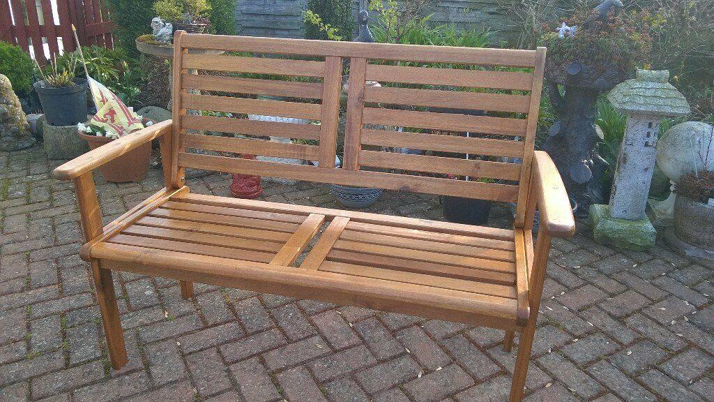 Garden Seat Teak In Perth Perth And Kinross Gumtree