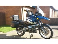 For sale is my 2002 BMW GS 1150 in Blue and White