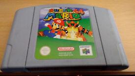 Super Mario 64 n64 second copy