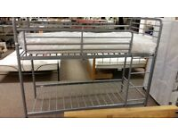 VERY GOOD CONDITION kids metal bunkbed frame bunk bed easy to assemble frame