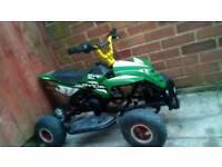 Mini midi moto 2 stroke quad bike 50 cc