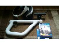 PSVR, Camera, Farpoint Controller and Farpoint game. Pick up from fakenham
