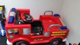 Fireman sam electronic car