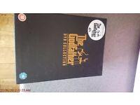the Godfather - box set dvds