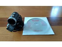 Webcam (Microsoft Lifecam 3.5) with disc - compatible with XP/Windows 7 & 8