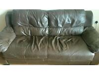 3 seater+2 seater leather sofa