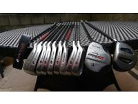 Pro Kennex SD2000, full size, right handed golf set with bag.
