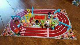 ELC Happyland sports day track