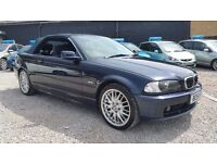 BMW 3 Series - 325CI Convertibe - LOW MILEAGE! BARGAIN! Full Service History! 51 Plate