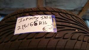 215/55R16 Affinity Radial x1