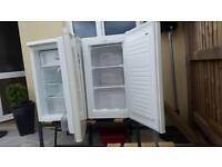 Fridge and freezer.under counter..