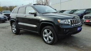 2011 Jeep Grand Cherokee OVERLAND 4X4 - ONLY 54,900 KMS!!!!