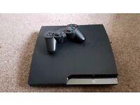 Playstation 3 Slim 120gb + 3 Controllers + 14 Games