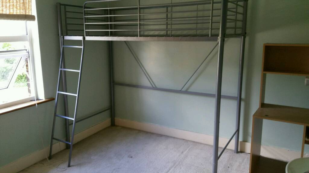 new arrival ca253 58a10 Ikea Bunk bed With wardrobe underneath | in Epsom, Surrey | Gumtree