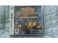 Pokemon mystery dungeon Nintendo ds game