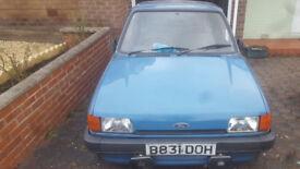 1985 Ford Fiesta 1.0L