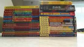 EXTRA LARGE BUNDLE OF BOY'S BOOKS- BEAST QUEST, THE KNOWLEDGE, SECRET AGENT
