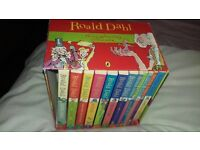 Ronald Dahl children's books very nice and looked after just two missing from the set