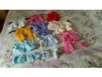 Prem baby sets or dolls sets for sale all newly knitted £4 a set