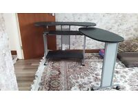 Computer desk and chair good condition