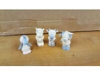 Blue Nose Bear Friends Figures