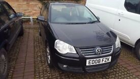 VW Black Polo for sale