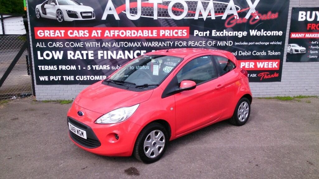 Ford Ka   Edge Red March  Mot New Service Cd Aux
