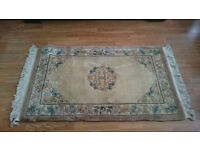 Antique Oriental Rug - Hand Knotted, Thick & Luxurious
