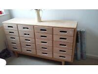 haberdashery Pine drawers