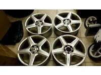 18 inch genuine Mercedes AMG alloys