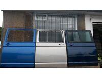 VW T5 T5.1 TRANSPORTER CARAVELLE MULTIVAN SLIDING DOOR TAILGATE FRONT DOOR CAMPER CONVERSION POSTAGE
