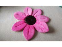 Blooming Bath - bathing flower cradle (Hot Pink)