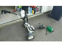 SOLD : PowaKaddy electric golf trolley