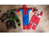 Bundle of kids fancy dress costumes x 6