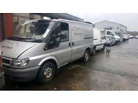 Ford transit 2004 silver breaking for parts