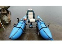Creek company pontoon boat