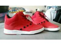 Red shoes size 6