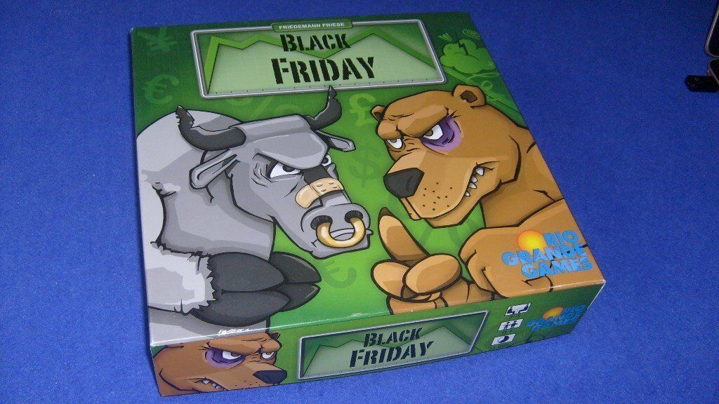 Black Friday board game - as new