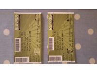 2 Runrig tickets 'The Last Dance' standing Friday 17th August 2018
